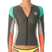 Rip Curl Womens Dawn Patrol L/S (Charcoal Grey)