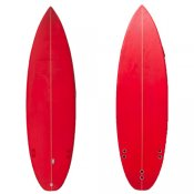 Poly Shortboard (Red 084)