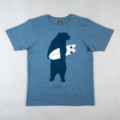 Maluku Bear T-Shirt (Heather Blue)
