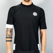 Rip Curl Aggro Relaxed Short Sleeve (Black)