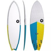 7S Super Fish 3 Carbon Vector (Yellow/Blue)