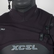 Xcel Mens 5mm Revolt Hooded (Black) Wetsuit