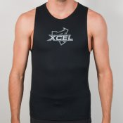 Xcel Mens 1mm Centrex Vest (Black)