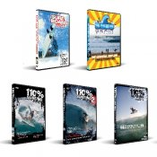 Special 5 DVD Bundle from 110% Surfing Techniques