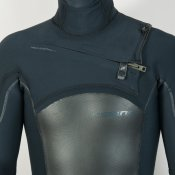 C-Skins Mens 6mm Hot Wired Hooded (Black) Wetsuit