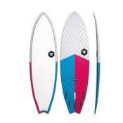 7S Super Fish 3 Carbon Vector (Blue/Red)